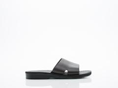 Jerusalem Sandals In Black Bashan Mens