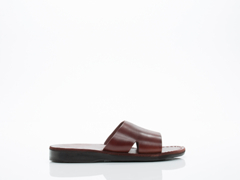 Jerusalem Sandals In Brown Bashan Mens