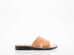Jerusalem Sandals In Tan Bashan Mens