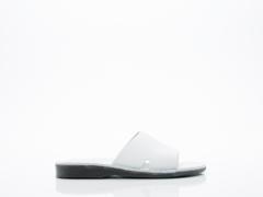 Jerusalem Sandals In White Bashan Mens