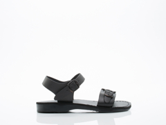 Jerusalem Sandals In Black The Original Mens
