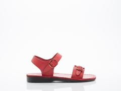 Jerusalem Sandals In Red The Original Womens