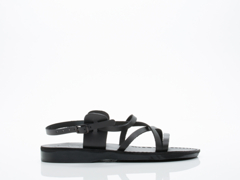 Jerusalem Sandals In Black Tzippora Mens