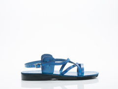Jerusalem Sandals In Blue Tzippora Mens