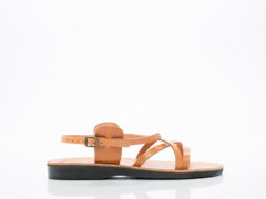 Jerusalem Sandals In Tan Tzippora Mens
