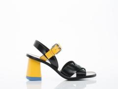 Jil Sander In Black Yellow JS26005