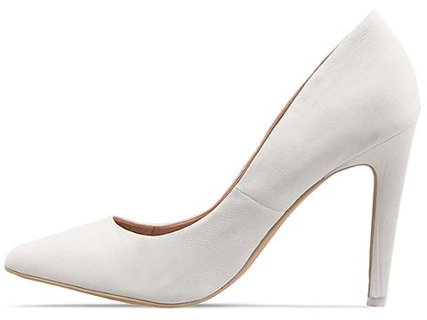 Joes In White Leather Delores