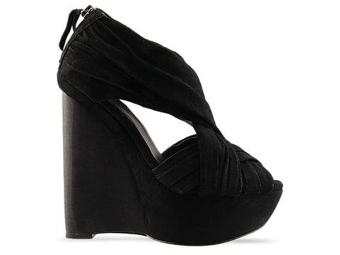 Joes In Black Suede Princess