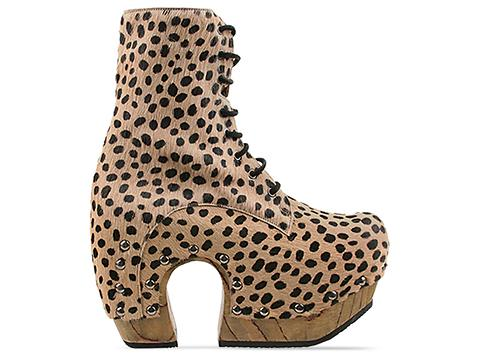John Fluevog In Cheetah Arch Boot
