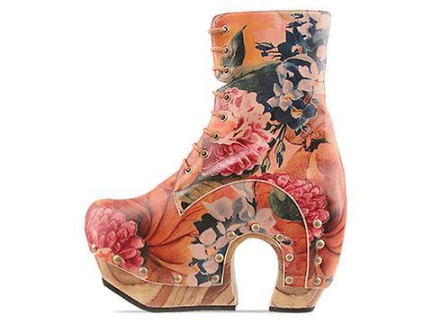 John Fluevog In Floral Arch Boot