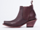 John Fluevog In Burgundy Courntney