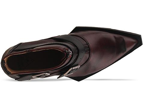John Fluevog In Burgundy Swordfish Edwardian