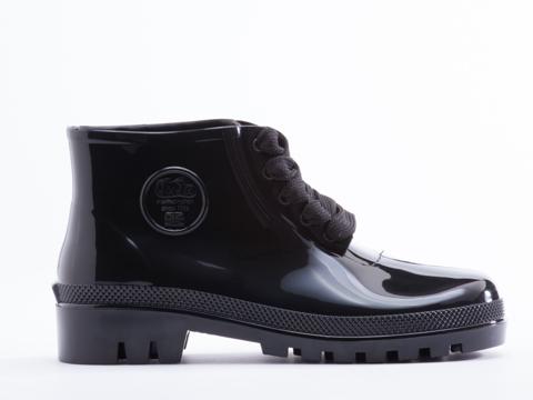 JuJu In Black Miller Jelly Boot