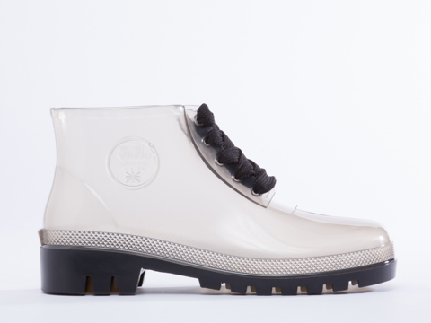 JuJu In Smokey Grey Miller Jelly Boot