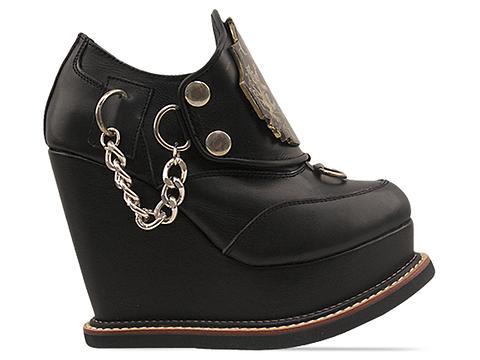 K.T.Z. In Black Champion Metal Shoes