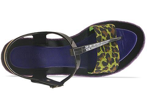 Kenzo In Black Green Leopard 235187