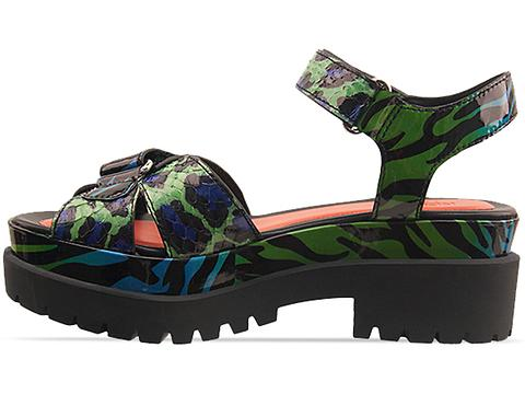 Kenzo In Green Blue Black Patent 235290