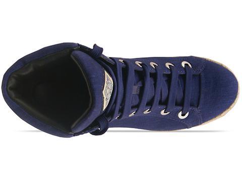 Kenzo In Dark Blue Denim Fabric 235721