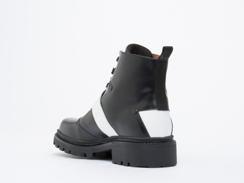 Kenzo In Black Thick Calf Bobby Boot Mens