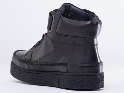 Kenzo In Black Leather Kenyon Mens