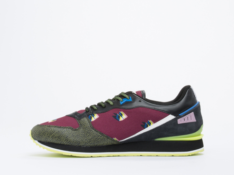 Kenzo In Shifted Bordeaux Running Mens