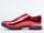 Kenzo In Leather Metal Red Sneaker Mens
