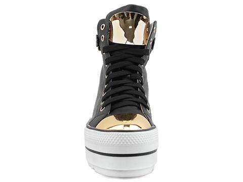 Kobe Husk In Black Bournster Sneaker
