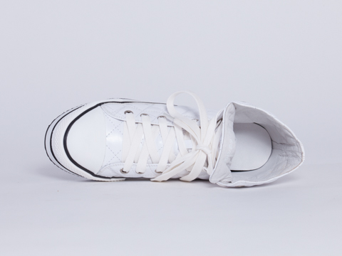 Kobe Husk In White Quilted Imint Chaser