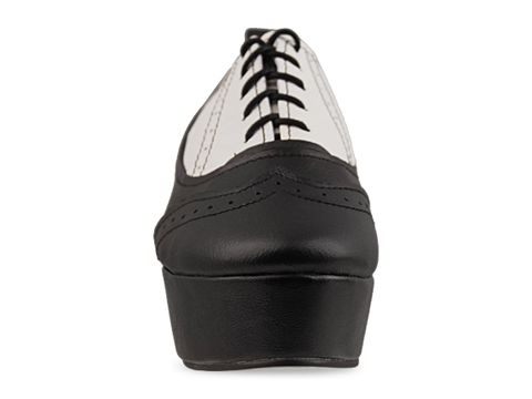 Kobe Husk In Black White Leger Brogues