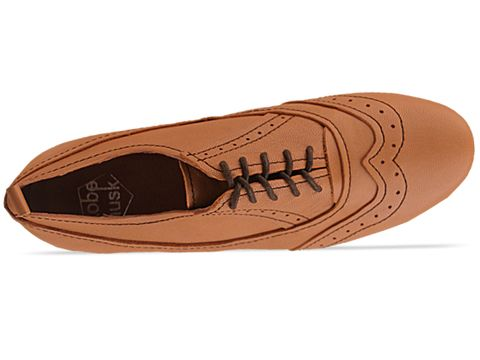 Kobe Husk In Camel Leger Brogues