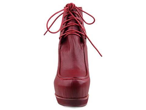 Kobe Husk In Burgundy Les Pied Boots