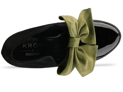 Kron By Kron Kron In Black And Green KR 15