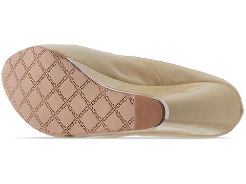 L.A.M.B. In Beige Patent Dorothee