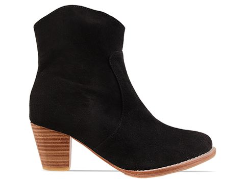 Lasskaa In Black Texas Bootie