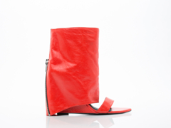 Lust For Life In Tomato Leather Bandit