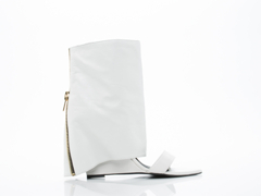Lust For Life In White Leather Bandit
