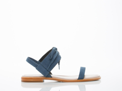 M4D3 In Blue Nubuck Goat Hailey