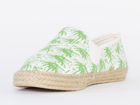 Made In Hell A X Solestruck In Green Palms Mens