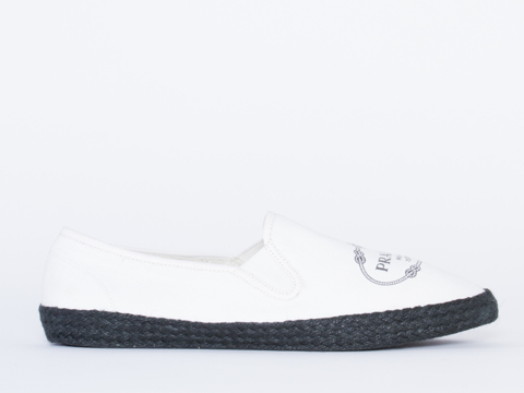 Made In Hell A X Solestruck In White Praduh Mens