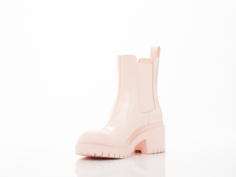 Marc by Marc Jacobs In Light Buff Chelsea Boot