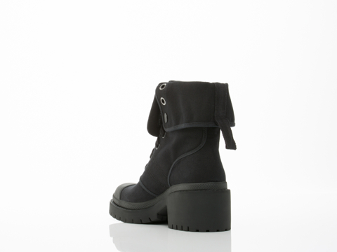 Marc by Marc Jacobs In Black Fold Down Boot