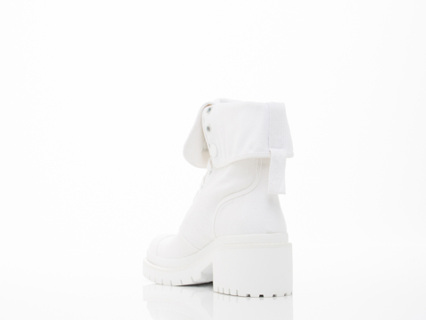 Marc by Marc Jacobs In Talc Fold Down Boot