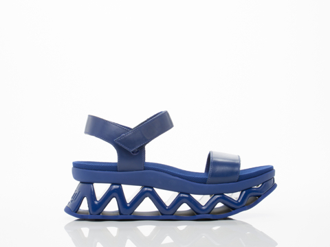 Marc by Marc Jacobs In Mineral Blue Ninja Wave Sandal