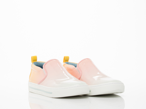 Marc by Marc Jacobs In Sunset Multi Slip On Sneaker