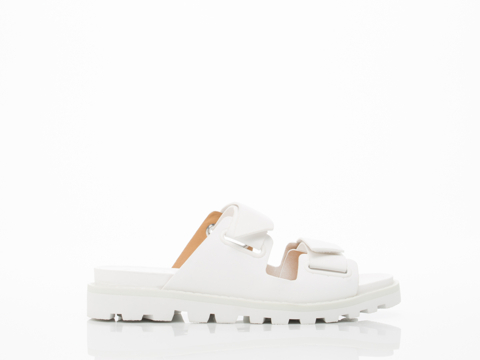 Marc by Marc Jacobs In White Street Stomp Sandal