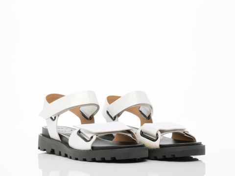 Marc by Marc Jacobs In Tinted Pearl Street Stomp Strap Sandal