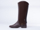 Melissa In Brown Black Riding Boot