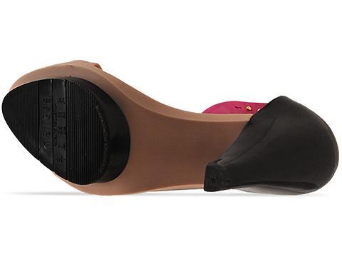 Melissa X Pedro Lourenco In Beige Black Pink 30848 Pump