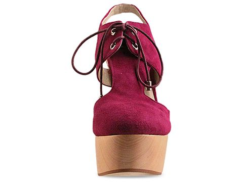 Messeca In Berry Kid Suede May