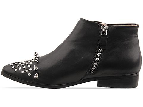 Messeca In Black Leather Titan